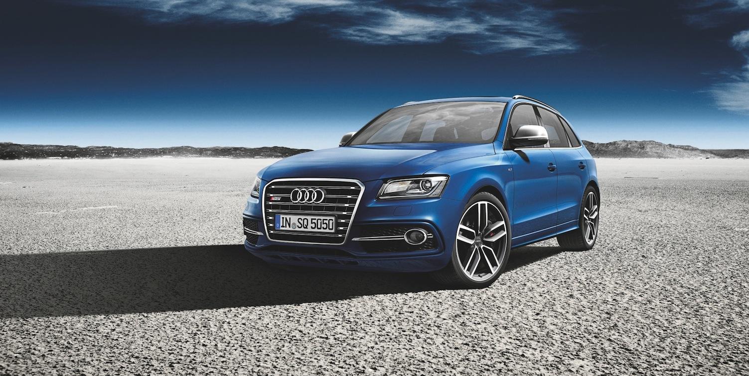 Le nouveau SUV d'Audi : le SQ5 TDI Exclusive Concept