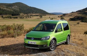 VW Cross Caddy modèle 2013