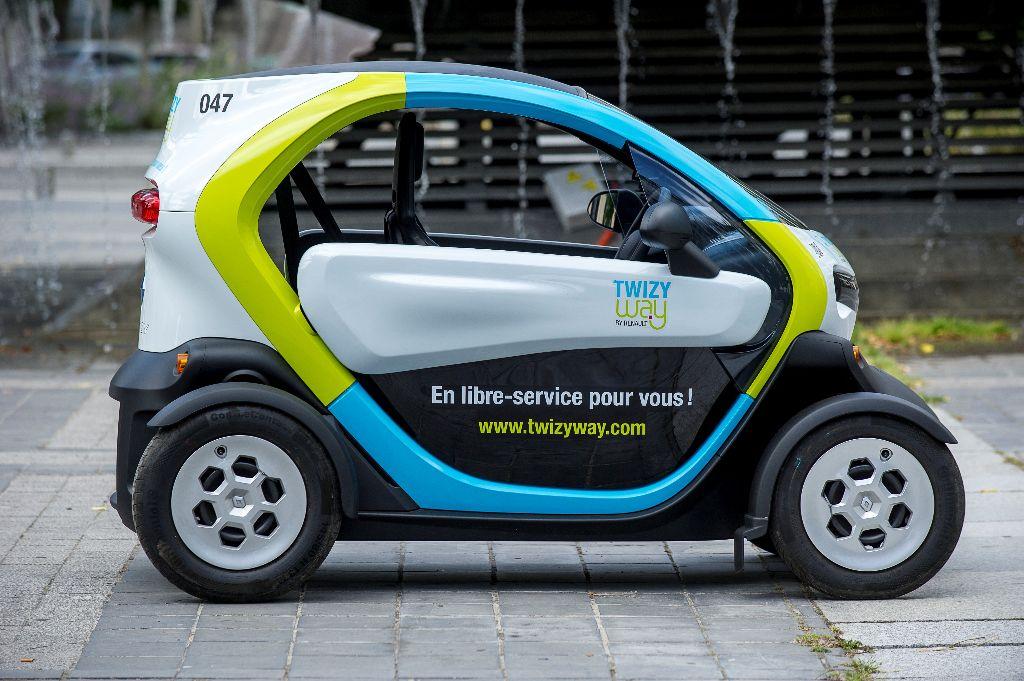 Twizy Way Renault - Auto-partage à Saint Quentin