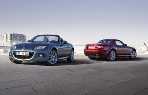 Mazda MX-5 126 PS MZR 1.8L (126ch) et 160 PS MZR 2L (160ch)