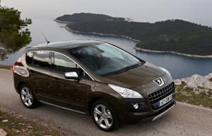 Peugeot 3008 commercialisé en Chine