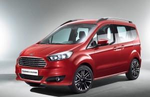 Nouveau Ford Tourneo Courier 2013