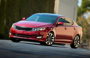 Nouvelle Kia Optima au Salon de New York