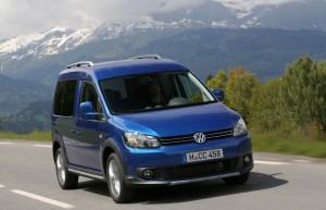 Nouveau VW Cross Caddy 2013 - Prix