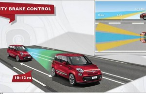 Radar anticollision Fiat