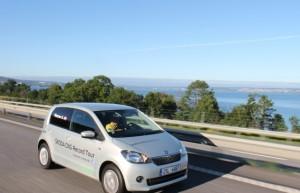 Skoda Citigo CNG Green Tec - Record de consommation