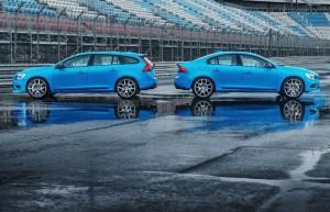 Volvo S60 et V60 Polestar V6 turbo 360 ch