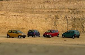 20 ans de la Renault Twingo