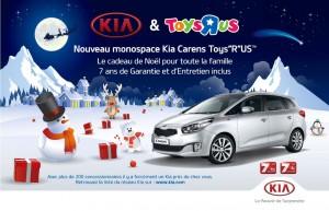 Kia Carens série spéciale Toys R Us