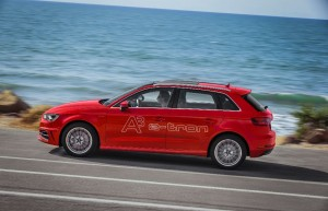 Audi A3 Sportback e-tron en production