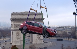 Nouveau Nissan Qashqai - Rooftopping