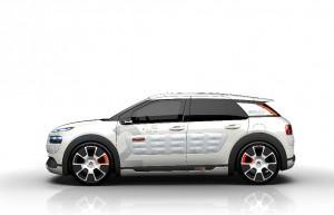 Le Concept Citroën C4 Cactus Airflow 2L : seulement 2 litres aux 100