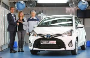 Toyota passe le cap des 100 000 hybrides vendues en France