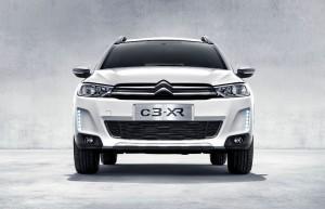 Le Citroën C3-XR, dévoilé à Paris, destiné à la Chine