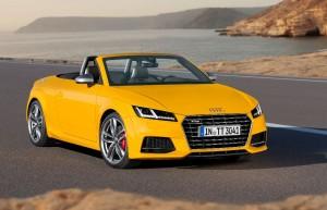 Audi TT et TTS : une nouvelle génération de roadsters