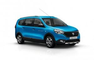Dacia présente ses Lodgy et Dokker Stepway