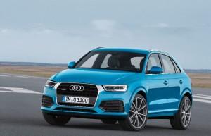 La version 2015 de l'Audi Q3 est arrivée