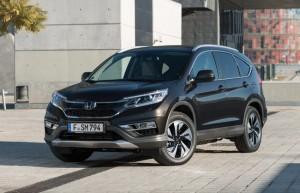 Un nouveau look pour la Honda CRV