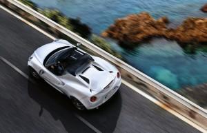 Les 4C Spider et 4C Coupé au menu d'Alfa Romeo à Genève