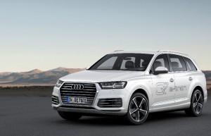 Le Q7 Audi e-tron 3.0 T Quattro  met les watts