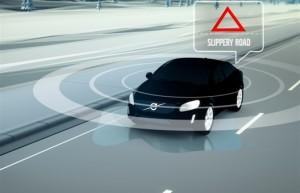 Chez Volvo, les voitures communiquent entre elles