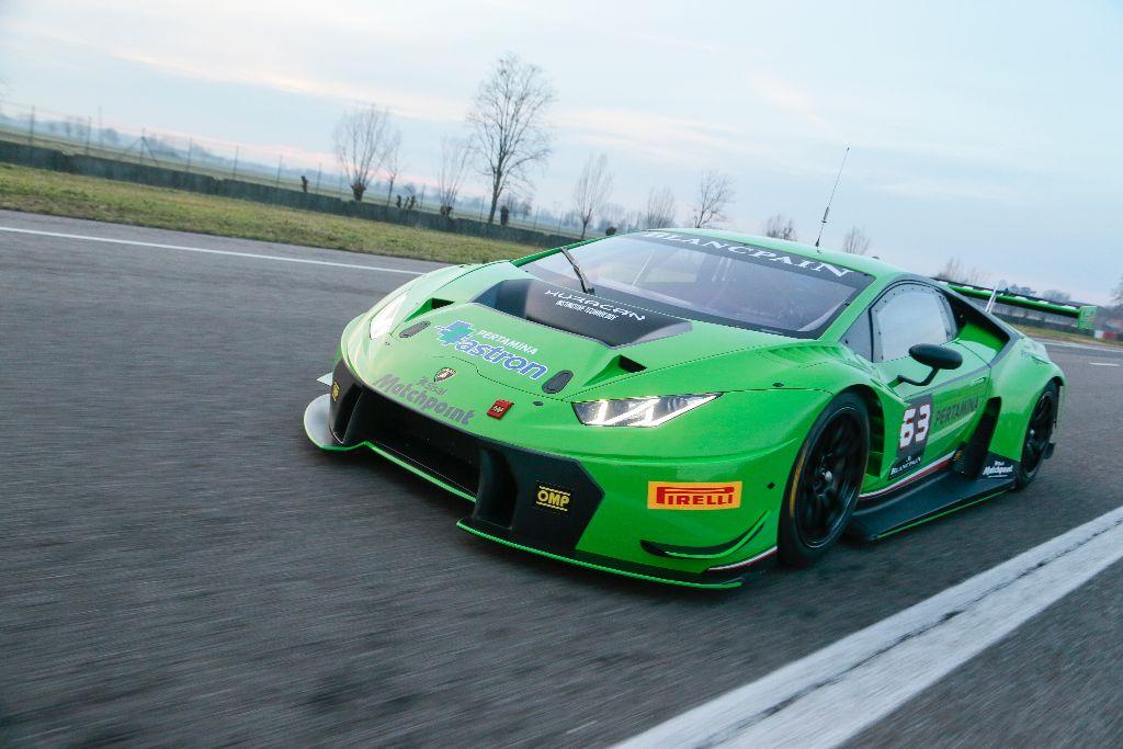 Lamborghini : une version GT3 pour l'Huracan