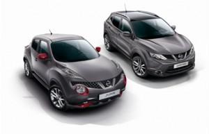 Une série exclusive Design Edition pour les Nissan Juke et Qashqai