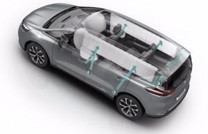 Et de 5 pour le Renault Espace à l'Euro NCAP