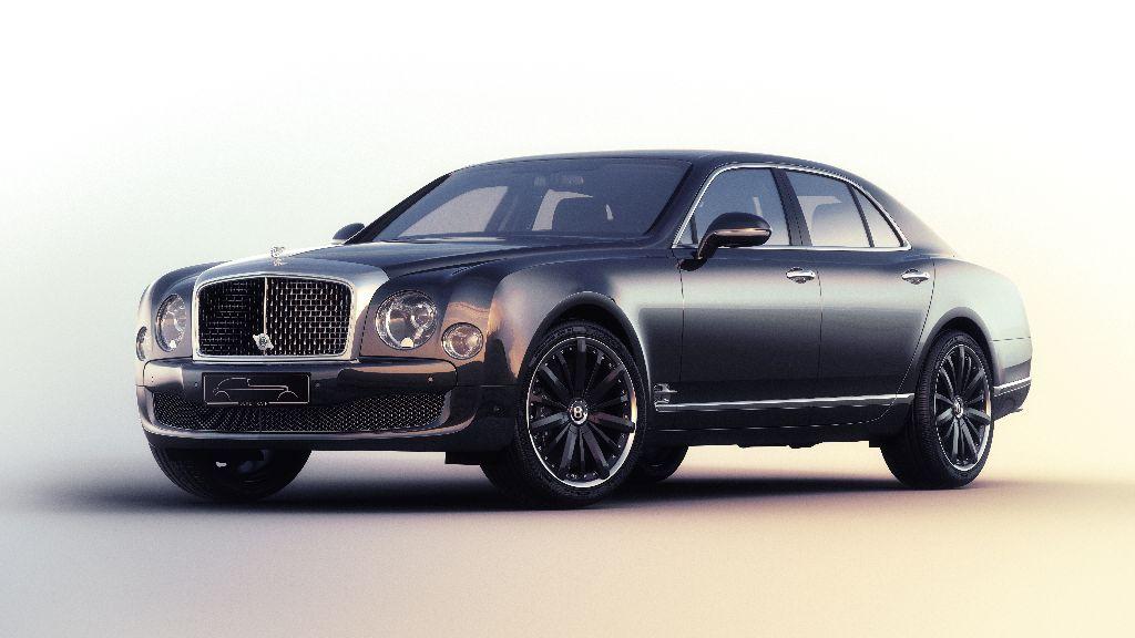 Bentley Mulsanne Speed Blue Train : quatre exemplaires seulement
