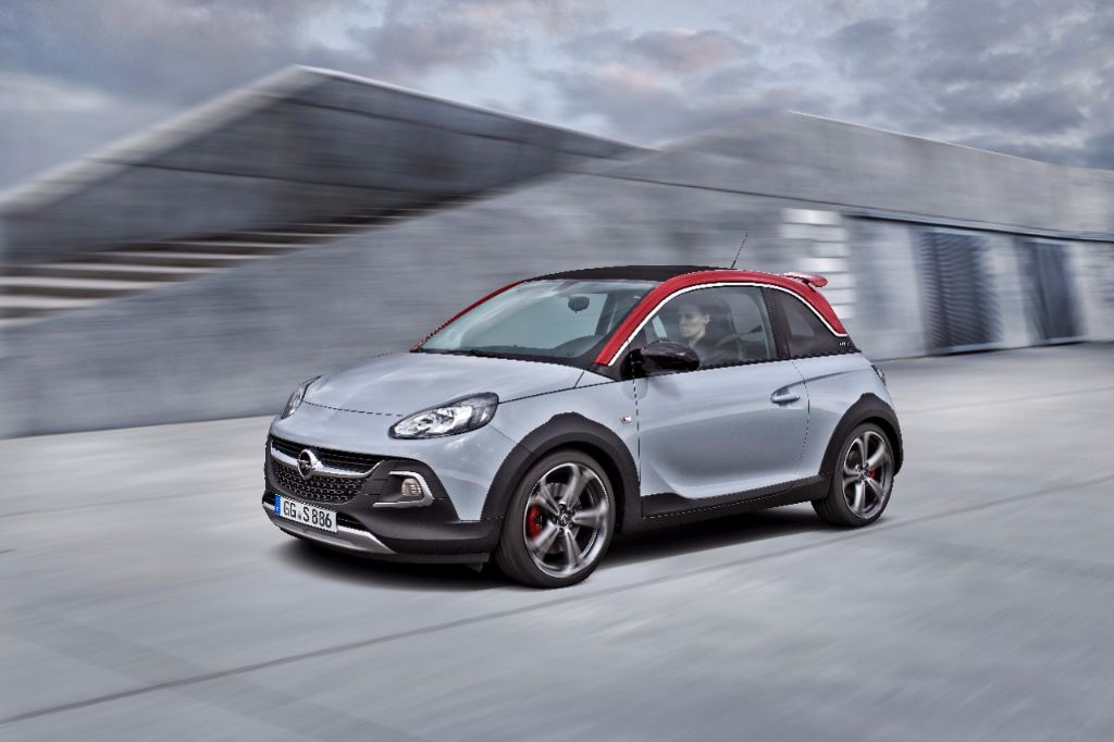 Nouvel Opel Adam Rocks S : le mini crossover