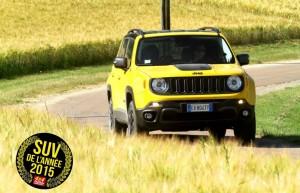 Le Jeep Renegade se distingue encore