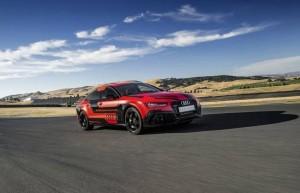 Audi RS7 : sans pilote au volant mais encore plus vite !