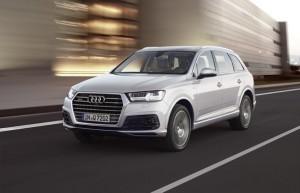 Une Audi Q7 cinq étoiles