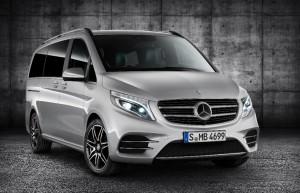 Mercedes-Benz Classe V AMG Line : un monospace au look athlétique