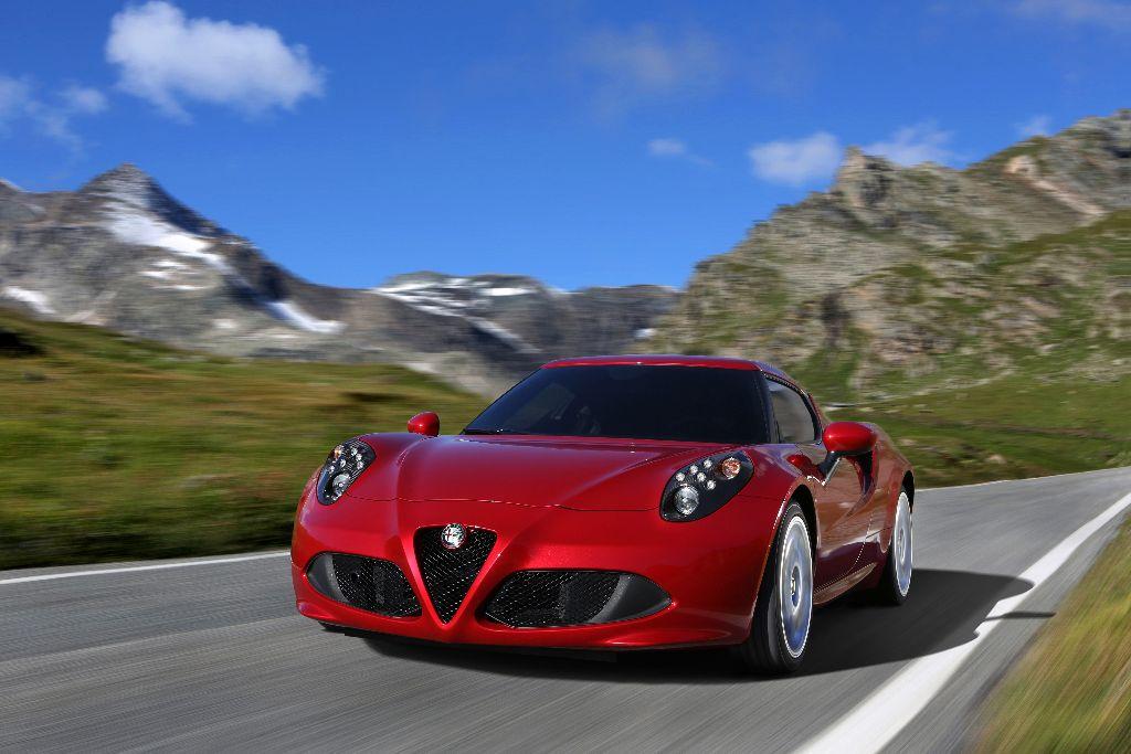 Alfa Romeo 4C 1750 TBI 240 ch