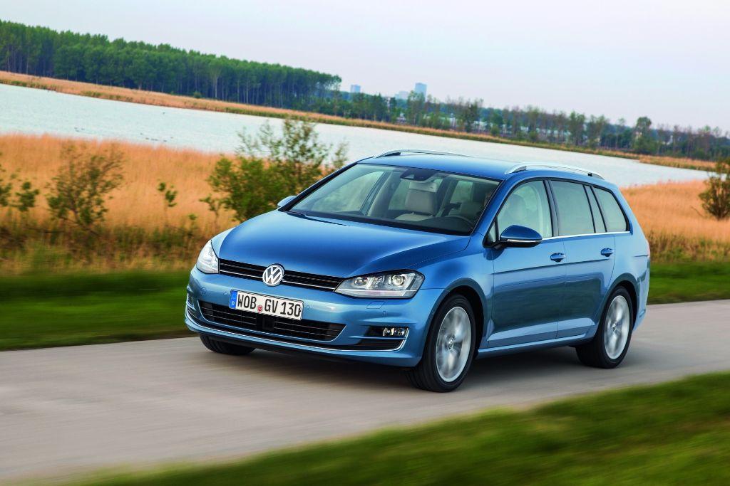 Volkswagen Golf SW 1,6 TDi 105 Bluemotion