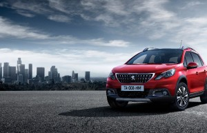Le nouveau visage du Peugeot 2008