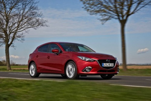 Mazda3 vue latérale