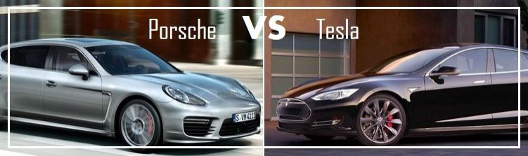 Essai comparatif Porsche Panamera E-Hybrid VS Tesla S Model S P85D