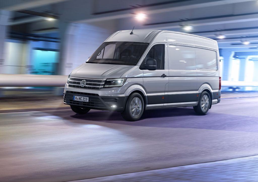 Volkswagen a revu son Crafter - Reserver1Essai
