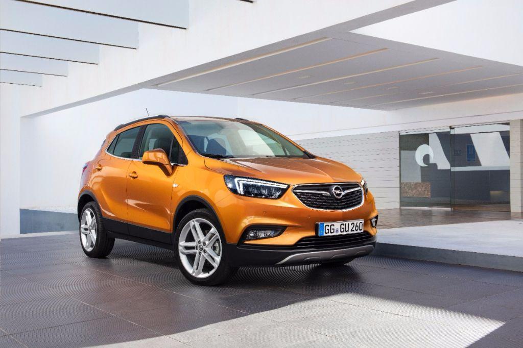 L'Opel Mokka se pare d'un X