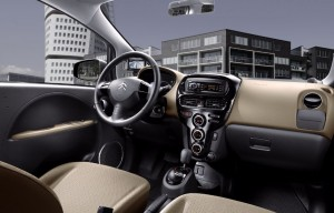 Citroën C-Zéro habitacle