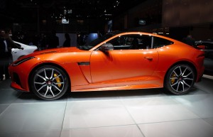 Live Mondial : le coupé Jaguar F-Type SVR