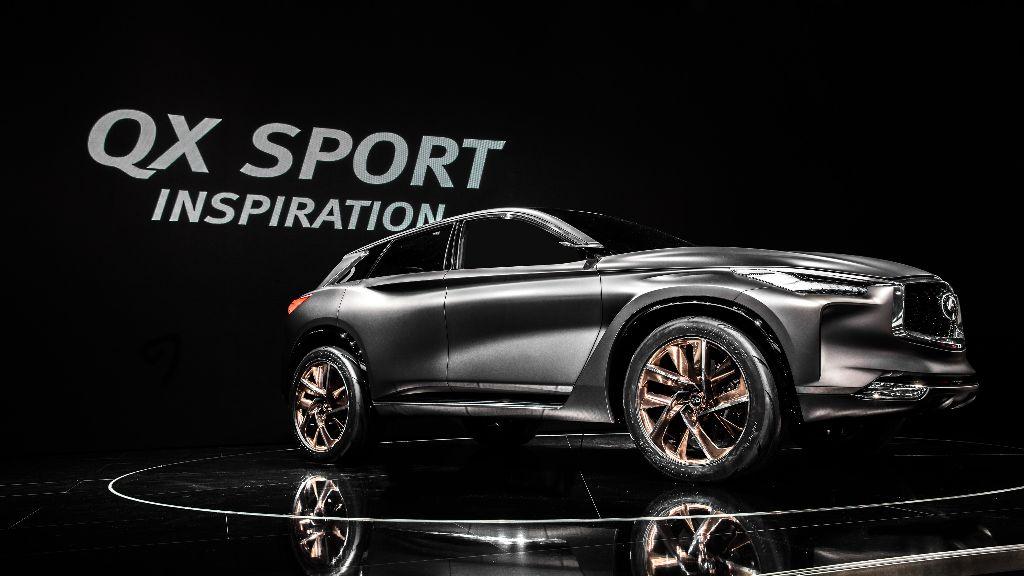 Le modèle INFINITI Sport Inspiration