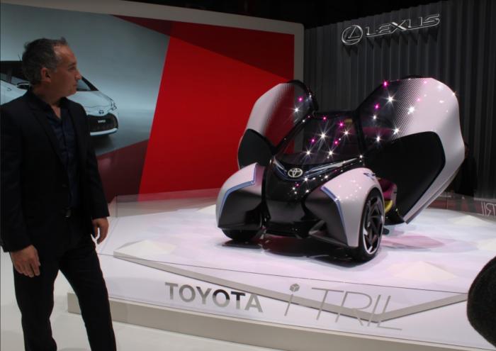 Salon de Genève : Toyota dévoile son concept car i-TRIL