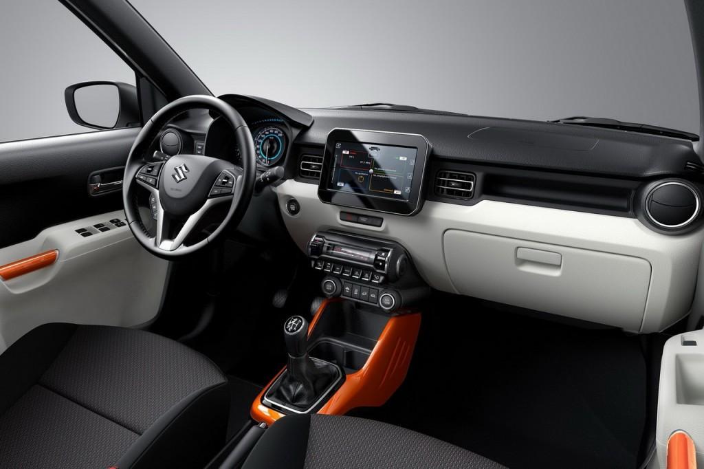 Intérieur Suzuki Ignis essai
