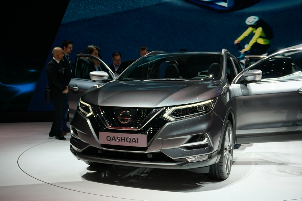 Nissan Qashqai restylé au Salon de Genève