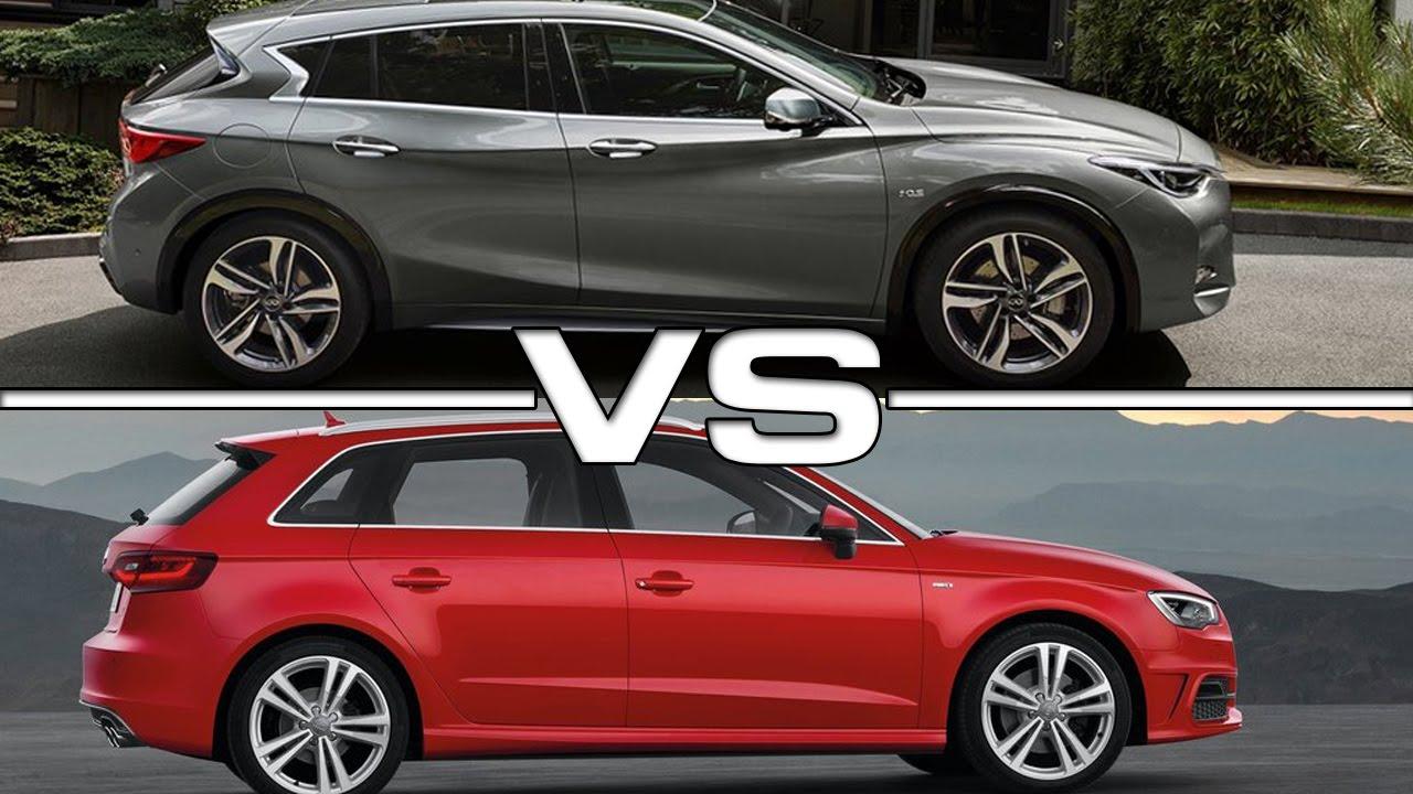 Essai comparatif INFINITI Q30 VS Audi A3 par RéserverUnEssai