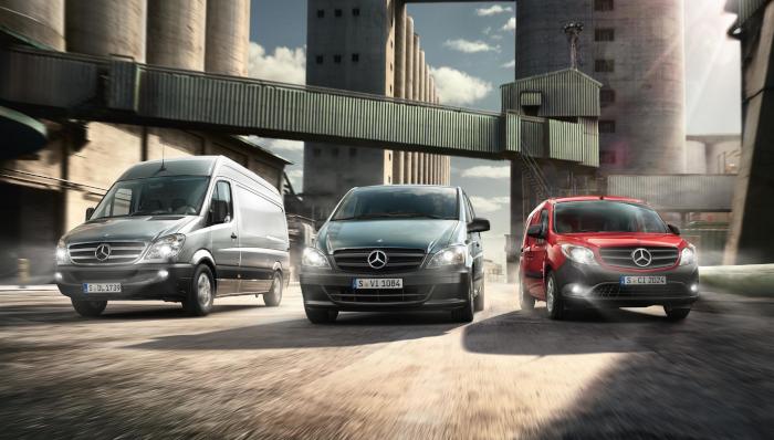 Mercedes va lancer les utilitaires électriques Vito et Sprinter