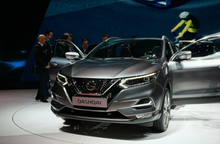 Découvrez le Nissan Qashqai restylé au Salon de Genève